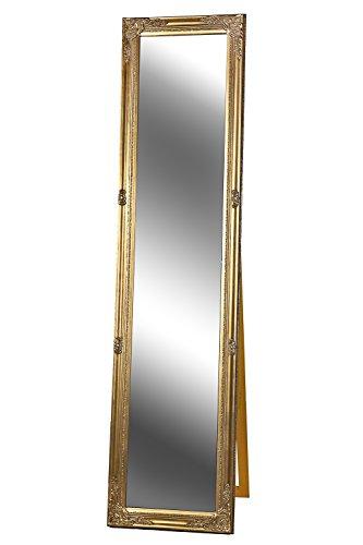 Standspiegel Spiegel antik gold ABIGAIL 160 x 40 cm