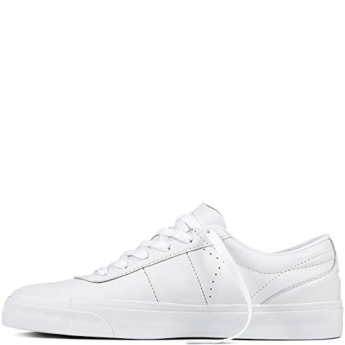 Converse Unisex Adults' Skate One Star Cc Pro Ox Leather Fitness Shoes White (White/Dolphin/White 102) jnWNZWhoVZ