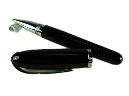 Duke America Air Force One Shape Black Lacquered Roller Ball Pen Pouch