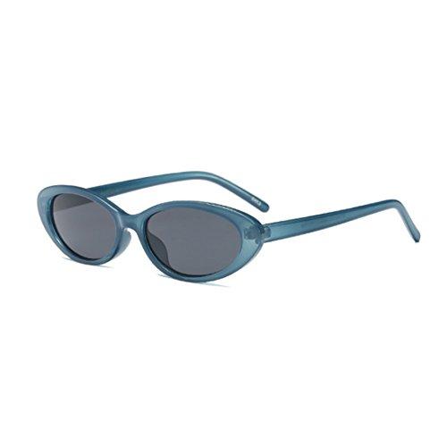de de los de de Azul sol las ovales vendimia la pequeñas los Gafas Gris mujeres de hombres los Yefree marcos gafas de hombres nvqU0xIHw