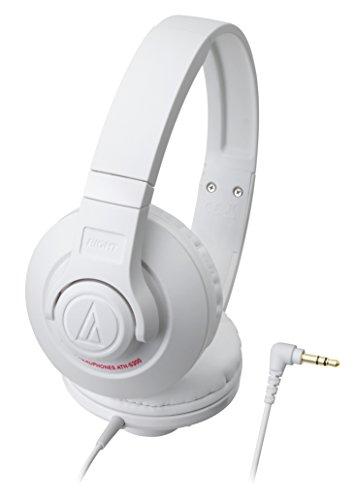 White Portable Wh Headphones (audio-technica STREET MONITORING Portable Headphone ATH-S300 WH (White))