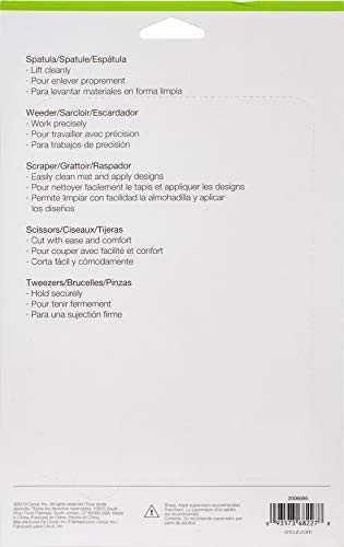 Cricut Tool Set Juego De Herramientas Basicas Colores Variados 09 X 65 X 103 Inches