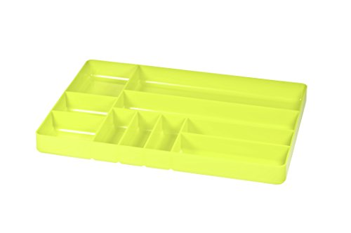 Ernst Manufacturing 5012-HV 11-Inch by 16-Inch Organizer Tray, 10-Compartments, High-Visibility by Ernst Manufacturing