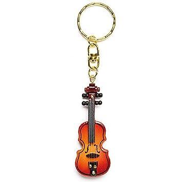 LLAVERO-Violin (Madera) (Unidad) (Marron) (6 cm): Amazon.es ...