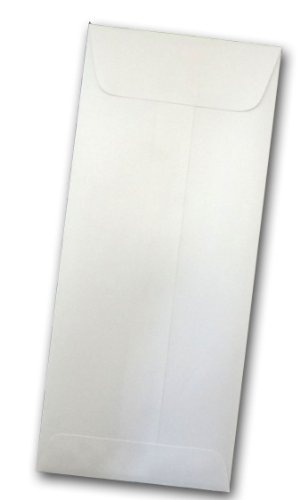o. 10 Policy Envelopes - 25 Pk (Crystal (white)) ()