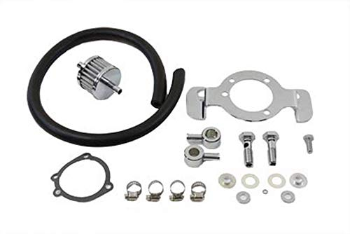 Mid-USA Air Filter Support and Bracket Kit for Harley Big Twin EVO Models 1993-98