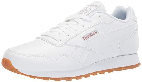 Mens Sport Classic Shoes - Reebok Men's Classic Harman Run Shoe, White/Grey, 11 M US