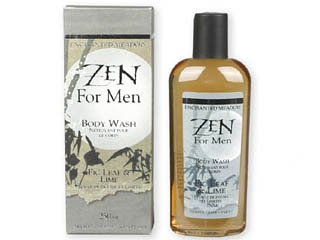 Zen for Men Figleaf & Lime Body Wash by Enchanted Meadow