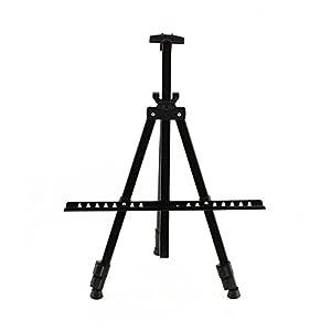 Brackets - Folding Artist Painting Easel Shelf Bracket Adjustable Art Tripod Stand Studio Display - Square- 1PCs