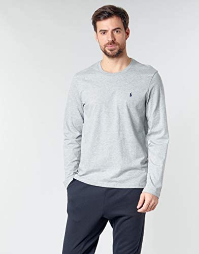 Ralph Lauren Men's Long-Sleeved Shirt Grey S