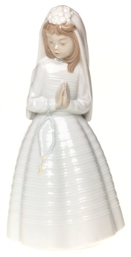 - NAO Girl Praying Porcelain Figurine
