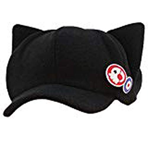 Hat Cat Anime - Ainiel Unisex Sunshine Cute Kawaii Cat Ears Nice Shape Black Cap