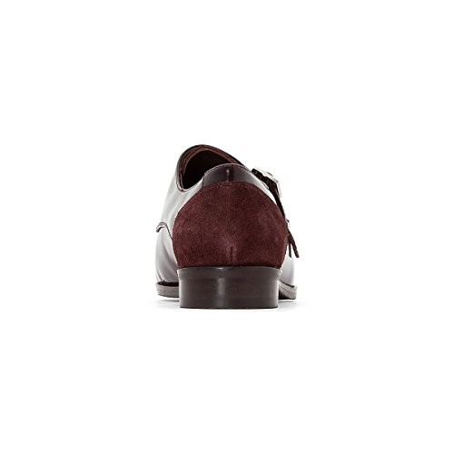 Lederderbys Redoute Bordeaux La Frau Mit Schnallen Collections FtpWw84PH