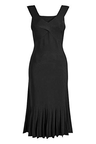 In next Kleid Schwarz Tulpenform Damen xXgqXn1O