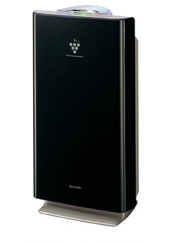シャープ 家庭用空気清浄機(~24畳用) FU-S51CX-B ピュアブラック B000AQOGGI