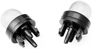 Manyo – Juego de 3 bombillas de arranque + tubo de gasolina (2 mm x 3,5 mm), manguera de combustible para soplador cortabordes, motosierra, ...