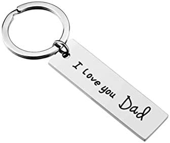 Amazon com: Father's Day Gift Keychain from Daughter for