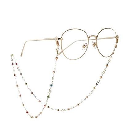 Para Gafas Colorear Cadena Correa Cuerda Diseño Metal De 35jAL4Rq