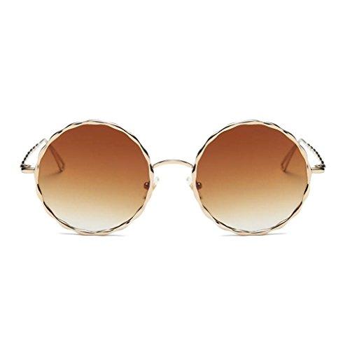 Lunettes de Soleil Ansenesna Mode Cat Eye lunettes de Soleil Femmes Steampunk Retro Transparent Frame Marque Lunettes de Soleil C