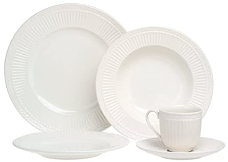 Mikasa Italian Countryside 5-Piece Place Setting Service for 1  sc 1 st  Amazon.com : mikasa plate set - pezcame.com