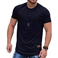8fc2a0e712 Camiseta Oversized Longline Blusa Camisa Masculina Swag Básica KS