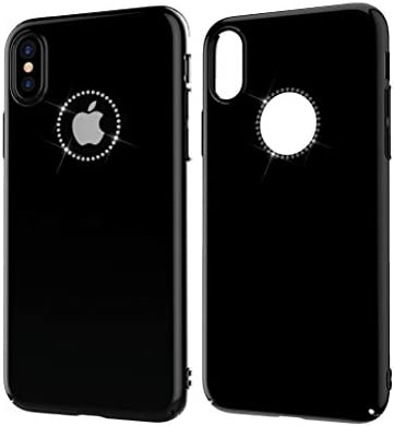 Amazon.com: iPhone X Case with Swarovski Crystals | Premium ...
