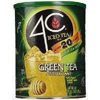 4C Iced Tea Green Tea Antioxidant Drink Mix-50.2 oz Thank you for using our service