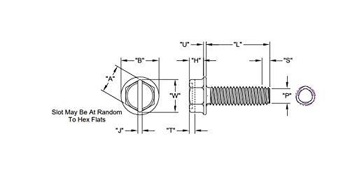 Type 1 Cross Recess Indented Hex Washer Head Tri-Lobe T.R.S. 10M per Box