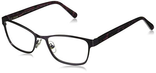 Foster Grant Women's Tierney Multifocus Glasses 1018253-150.COM Cateye Reading Glasses, Purple, 1.5