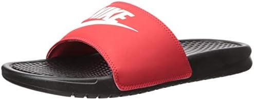new style look good shoes sale dirt cheap Nike Benassi Jdi, Men's Shoes, Black (Black/White-University Red ...