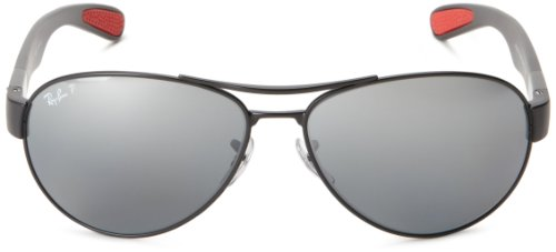 1d4ad83b20 Ray-Ban RB3509 - MATTE BLACK Frame POLAR GREY MIRROR SILVER GRAD. Lenses  63mm Polarized  Ray-Ban  Amazon.in  Clothing   Accessories