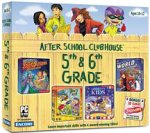 After School Clubhouse 5th & 6th Grade (Clue Finders Search & Solve Adventures, Liberty's Kids, Where in the World is Carmen Sandiego?, Nickelodeon Rocket Power Extreme Arcade Games) -