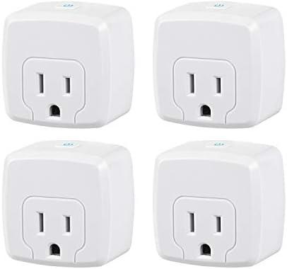 HBN Mini Smart WiFi Plug, Heavy Duty Wi-Fi Time...