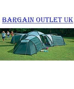Pro Action 9 Person 3 Room Tundra Tent  sc 1 st  Amazon UK & Pro Action 9 Person 3 Room Tundra Tent: Amazon.co.uk: Kitchen u0026 Home