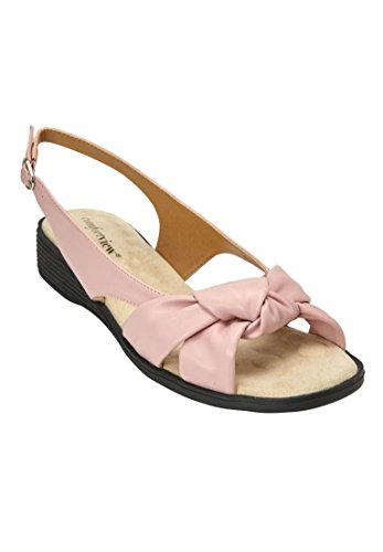 Comfortview Womens Wide Marlee Sandals Rose Mist