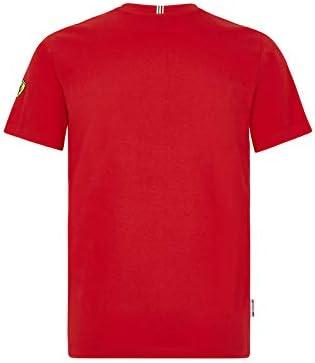 Scuderia Ferrari Offizielle Formel 1 Merchandise 2020 Baumwolle Rot Sebastian Vettel T-Shirt Kinder