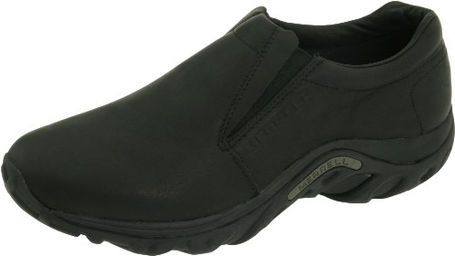 Merrell JUNGLE MOC - Zapatillas de casa de cuero mujer Black (Midnight Leather)