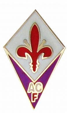 Fiorentina ACF Football Crest Pin Badge