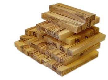 Bethlehem Olive Wood Pen Blanks from The Holy Land
