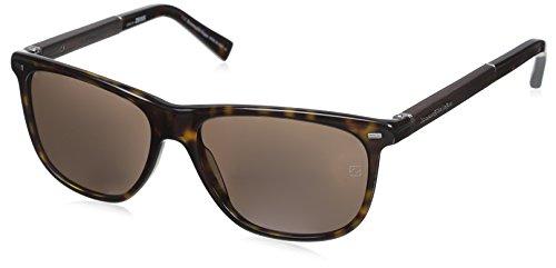 Ermenegildo Zegna Men's EZ0009 Sunglasses, Dark Havana/Roviex, used for sale  Delivered anywhere in USA
