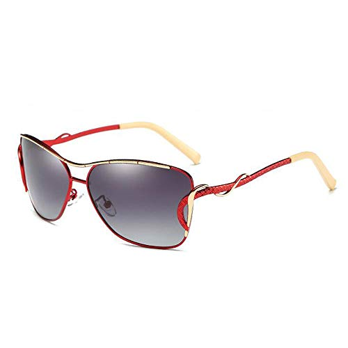 ANLW Polarised Sunglasses for Women Eyewear Metal Frame Sunglass Shades 100% UV400 ()