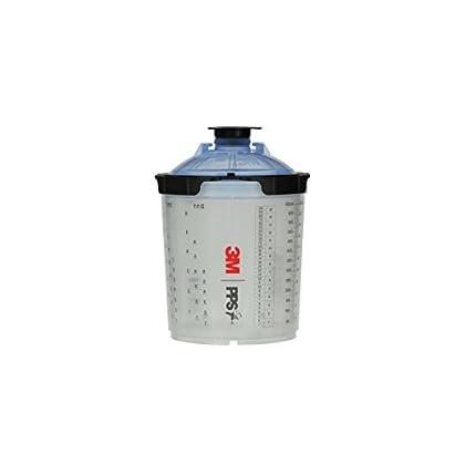 Image of Body Repair Tools 3M 26301 Spray Cup System Kit, Std (22 fl oz, 650 mL), 125u Micron Filter