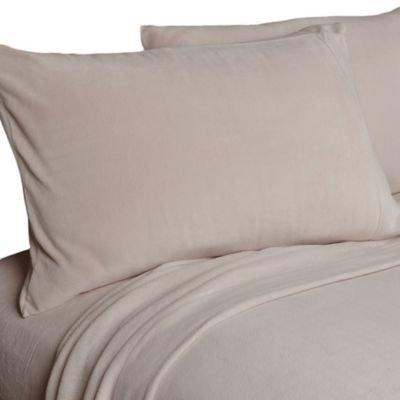 Oversized Berkshire Microloft Softer Sleep Sheet Set (Chinchilla, Full)