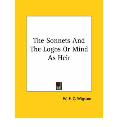 Download The Sonnets and the Logos or Mind as Heir (Paperback) - Common PDF