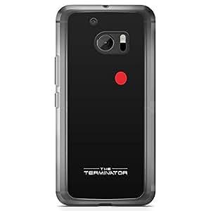 Loud Universe Terminator Minimal HTC 10 Case classic Movie Poster HTC 10 Cover with Transparent Edges