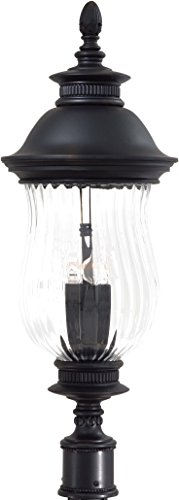 Minka Lavery Outdoor Post Lights 8906-94, Newport Cast Aluminum Exterior Lighting Fixture, 160 Watts, Heritage