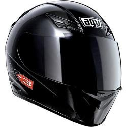 AGV K3 Mono Black Motorcycle Helmet S Small - Mono Motorcycle Helmets
