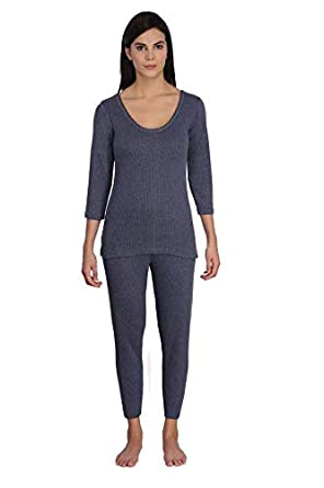 4cf41739dfd84f Selfcare Women's Cotton Thermal Set: Amazon.in: Clothing & Accessories