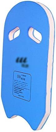 子供のウェイクボードブイ、EVA素材、水泳補助ボードの初心者、ブルー/ピンク/イエローメイドU字型スイミング安全フロート (Color : Blue)