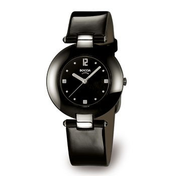 Boccia Women's Quartz Watch 3190-02 with Leather Strap